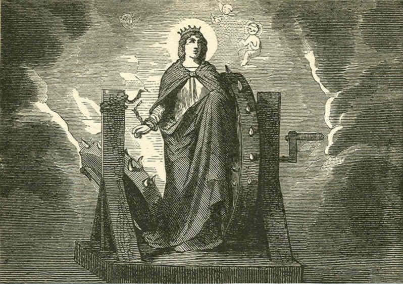 Saint catherine of alexandria for Passion carrelage saint maximin