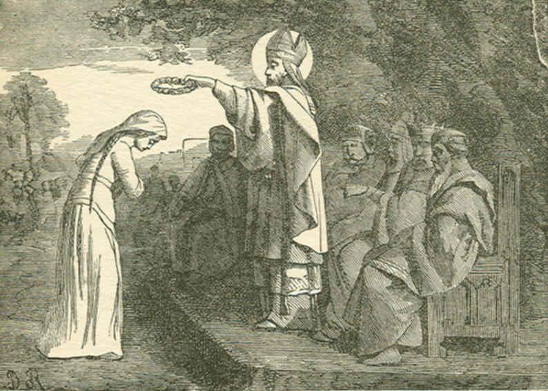 ŒUVRES CHRÉTIENNES DES FAMILLES ROYALES DE FRANCE - (Images et Musique)- année 1870  Saint_Medard