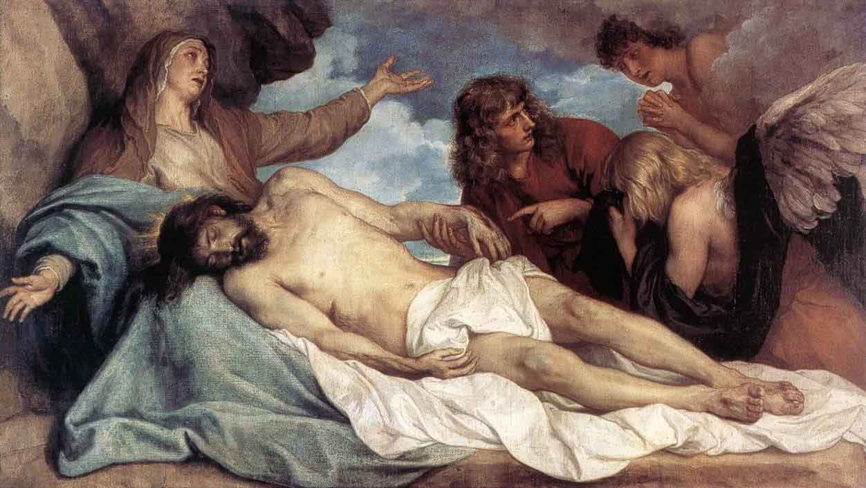 removal of the body of jesus from the cross
